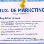 Auxiliar de Marketing – Recife/PE