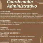 COORDENADOR ADMINISTRATIVO – FORTALEZA/CE
