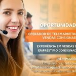 OPERADOR DE TELEMARKETING – FORTALEZA/CE