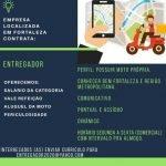 ENTREGADOR (COM MOTO PRÓPRIA) – FORTALEZA/CE