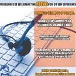 OPERADOR DE TELEMARKETING ATIVO – FORTALEZA/CE
