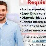 SUPERVISOR DE VENDAS – RECIFE/PE