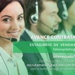 ESTAGIO EM VENDAS (TELEMARKETING) – FORTALEZA/CE