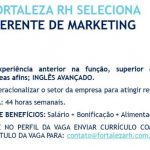 GERENTE DE MARKETING – FORTALEZA/CE