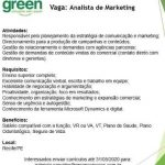 ANALISTA DE MARKETING (ENVIAR CV ATE 31/05/2020) – RECIFE/PE