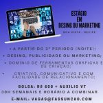 ESTÁGIO EM DESIGN/MARKETING – RECIFE/PE